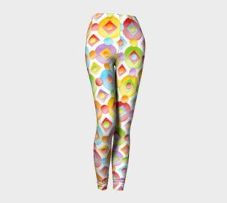 Aperçu de Happy Rainbow Dots Ankles