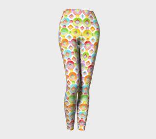 Aperçu de Happy Rainbow Dots Ankles small scale