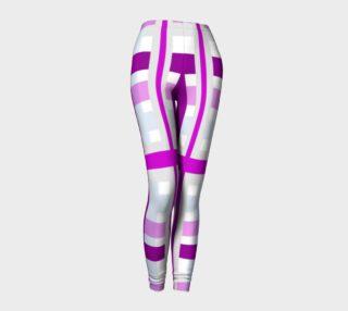 Purple Gingham Leggings preview
