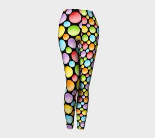 Rainbow Polka Dots Ankles asymmetric preview