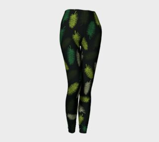 Palm tree II Leggins preview