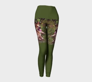 Australian Cattle Dog Red Laying Leggings preview