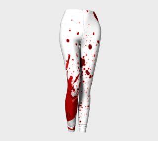 Blood Splatter One Leggings preview