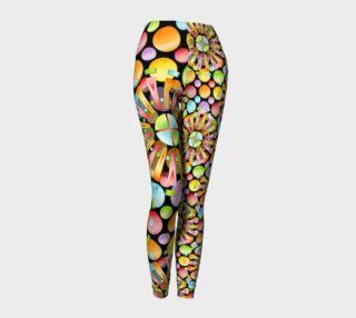 Aperçu de Rainbow Dots Sunburst Ankles asymmetric