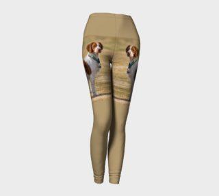 Brittany Spaniel Full Leggings preview