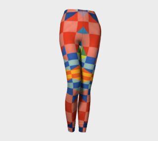Kaleidoscope leggings preview
