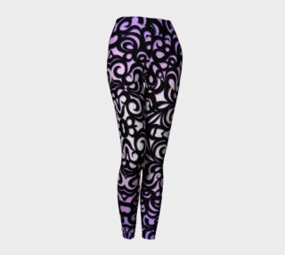 Leggings Damask Style G1 preview