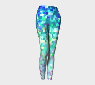 Leggings Mosaic Sparkley Texture G143 preview