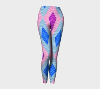 Geometric Candy Leggings preview