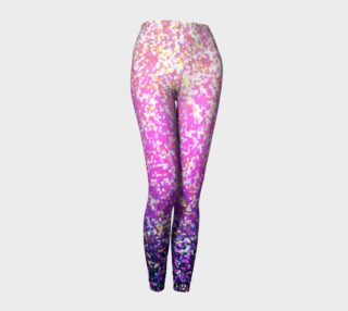 Leggings Glitter Graphic Background G9 preview