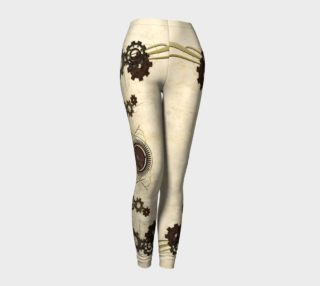 Victorian Gears Steampunk Leggings preview