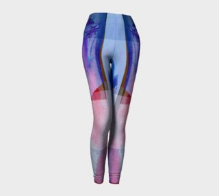 Squared Off Purple Leggings by Deloresart preview