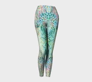 Earth Message Green Leggings preview