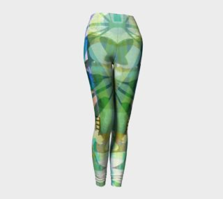 Graceful Sappling Collage Leggings by Deloresart preview
