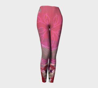 Flourish Collage Legging 2 by Deloresart preview
