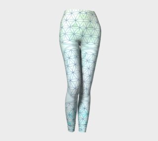 Seafoam Gradient Flower Of Life preview