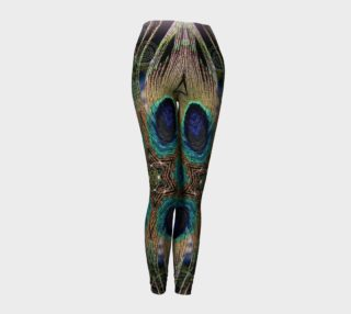Peacock Power Leggings preview