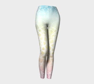 Pastel Sacred Geometry Leggings preview