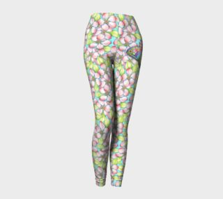 Apple Blossom Butterflies Ankle Leggings preview