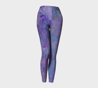 Lilac Ocean Leggings preview