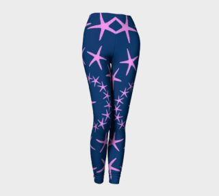 Starfish - Pink on Navy preview