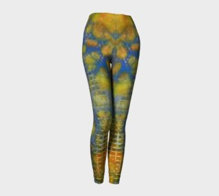 Paprika Drift Ink #17 Yoga Leggings preview