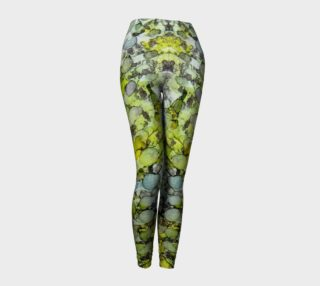 Vernal Showers Ink # 12  Yoga Leggings preview