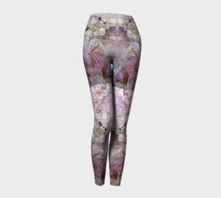Lavender Mornings Ink #6 Yoga Leggings preview