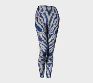 Aperçu de Shibori #1 Yoga Leggings