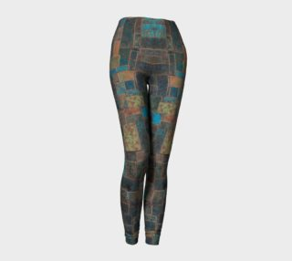 Metal Patinas #1 Yoga Leggings preview