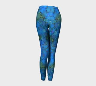 Summer Lake Ink #5 Yoga Leggings preview