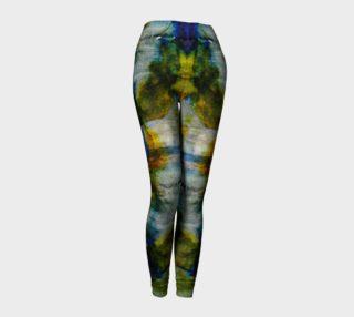 Labradorite Dream Ink #9 Yoga Leggings preview