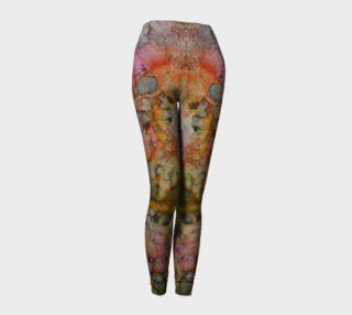 Carnival Glass Ink #27 Yoga Leggings preview
