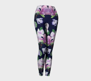 Magnolia Floral Frenzy Leggings preview
