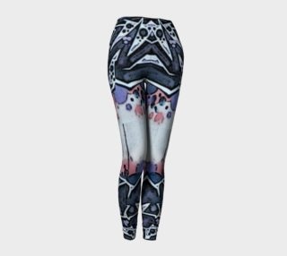 Train Grafitti #4 Leggings preview