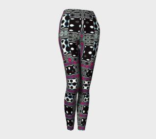 Abrica-Zebra / Luck Be A Lady / Zebra Dice Leggings preview