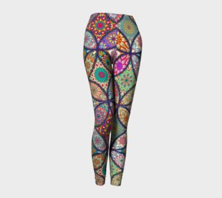 Vibrant Mandalas Leggings preview