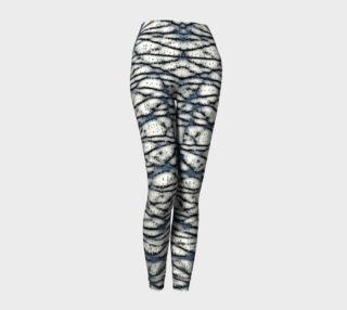 Wicker Shadows Yoga Leggings preview