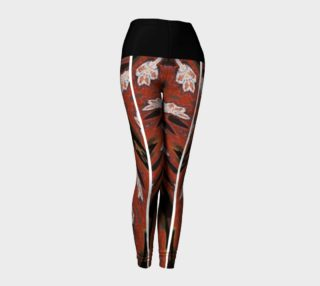 Aperçu de Simone Says Slimming-Action Floral Print Leggings