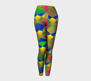 Colorful Bright Funky Geometric Shapes Pattern preview