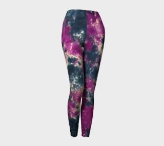 Blue Purple Scrunch Leggings preview