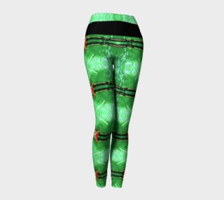 Aperçu de Emerald City Girl Red Bow Leggings