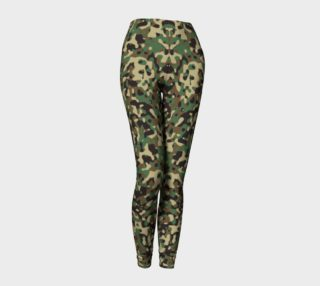 Camo Lady Leggings preview
