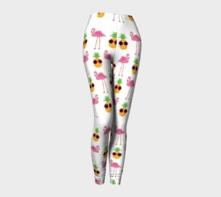 stylish pineapple flamingos preview