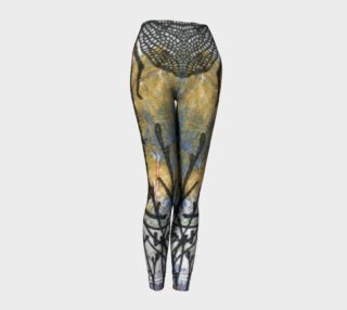 Dragon Fly Blue Leggings preview