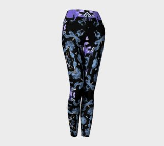 Aperçu de Migration Pattern Leggings w/Purple Top Line Accent