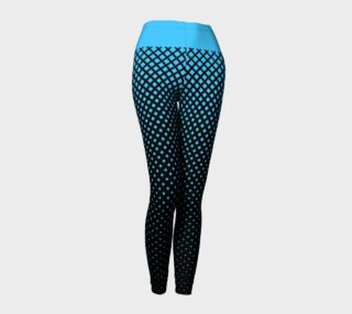 Rhapsody Blue Fade to Black Leggings preview