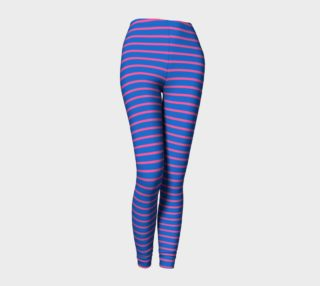 Stripes - Pink on Blue preview