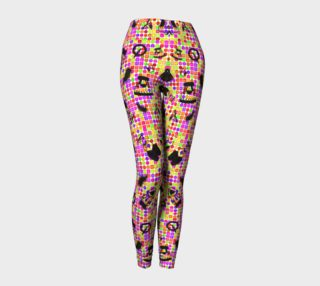 Black mix in colorful leggings preview