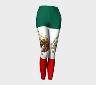 Aperçu de Mexico Flag Leggings